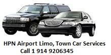 Westchester County Airport (HPN) Town car service